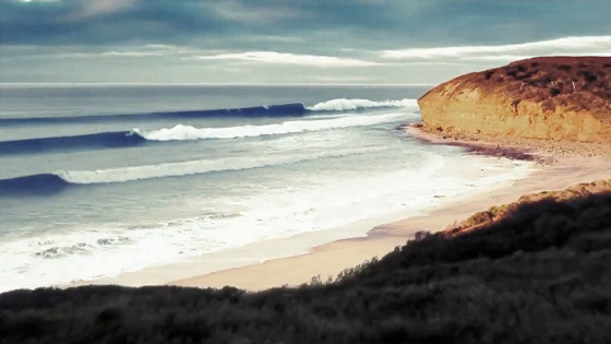 Bells Beach: the next wave train leaves in 10 seconds