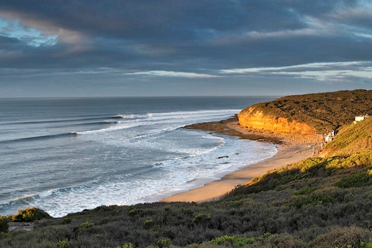 Surfing waves of history at Bells Beach