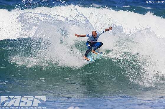 Kelly Slater: show time