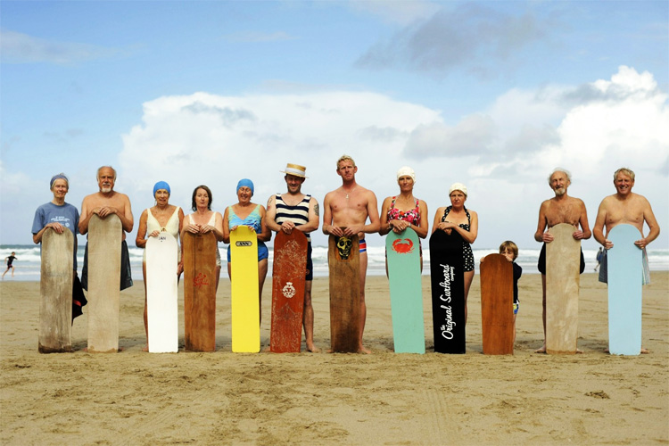 Bellyboarders: the World Belly Board Championships attracts hundred of old and young riders to Cornwall
