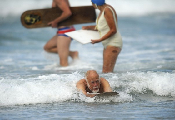 World Bellyboard Championship: don't laugh, this is serious'