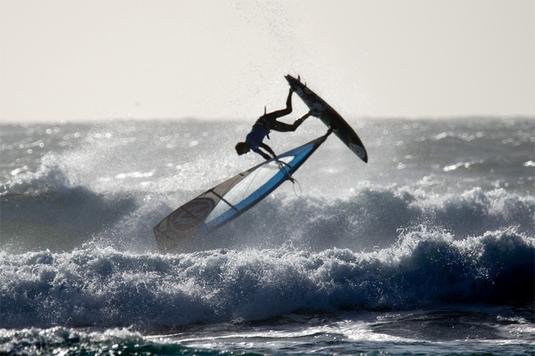 Benjamin Fabres: he had a brilliant wave sailing performance in Matanzas | Photo: Jimenez/IWT