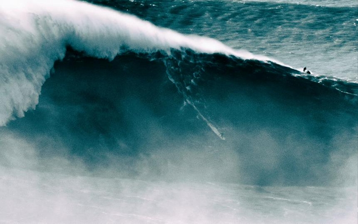 Benjamin Sanchis: 108-foot wave? | Photo: Alex Laurel