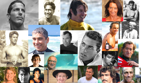 The best, the great and the influential surfers: pick one and read his story