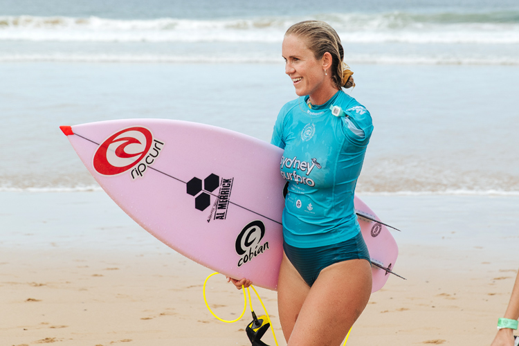 Bethany Hamilton: the American surfing legend wants to qualify for the WSL Championship Tour in 2021 | Photo: Dunbar/WSL
