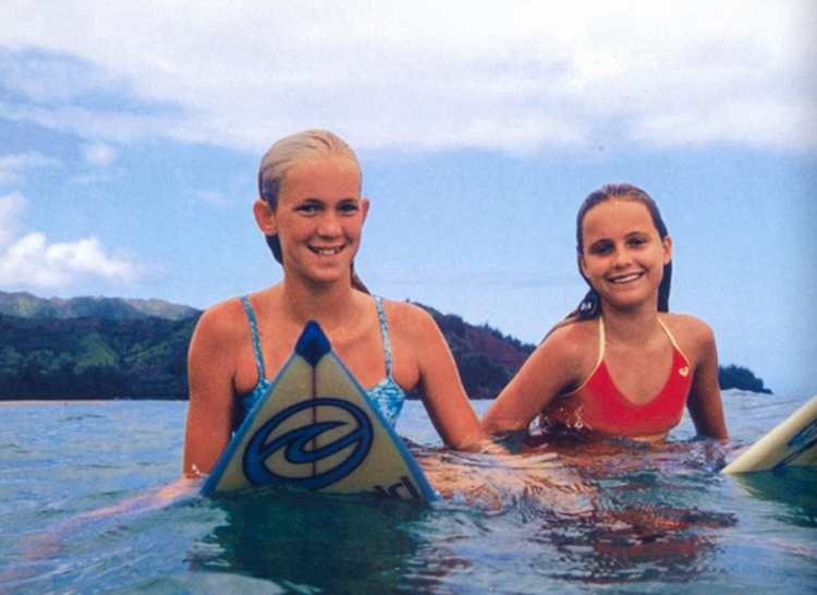 Bethany Hamilton and Alana Blanchard: they always surfed together