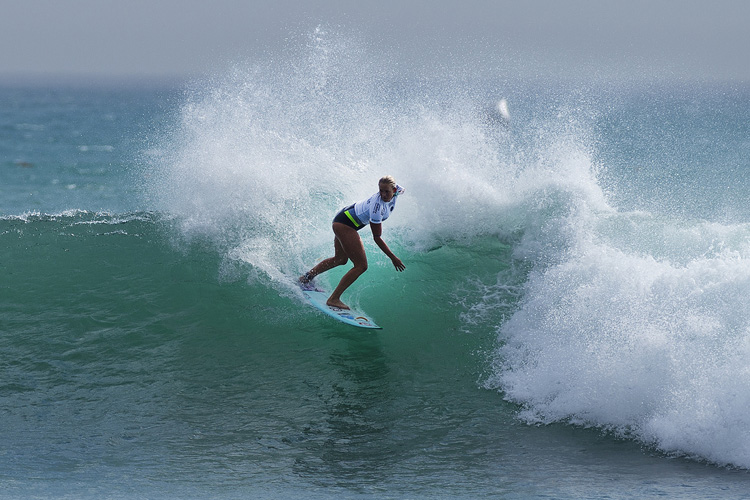 Bethany Hamilton: one of the most inspiring surfers on the planet | Photo: Kirstin/WSL