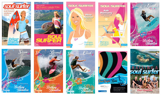 Bethany Hamilton: books are part of her life