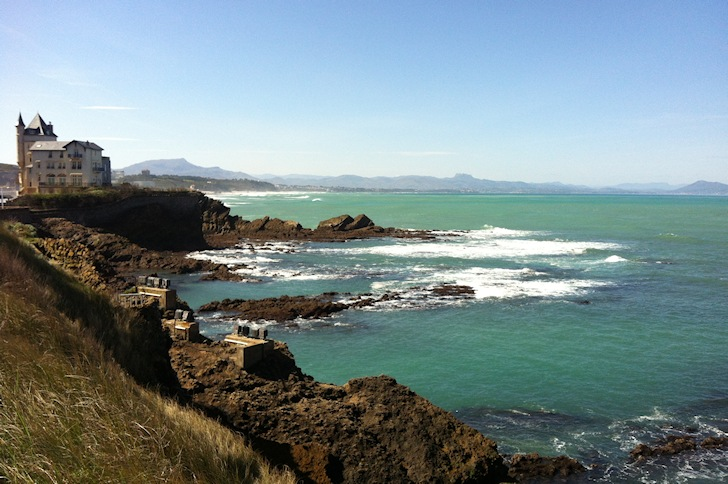 Biarritz: there's plenty of swell in the region