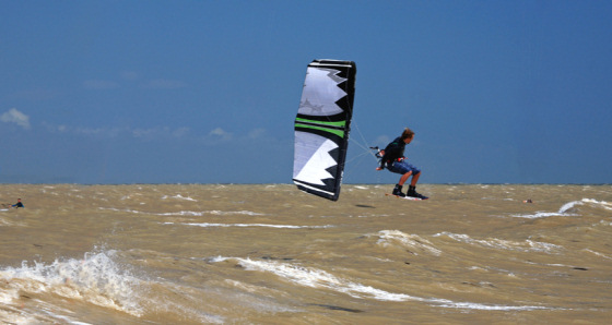 Lewis Crathern: the father of the Big Air Open Kitesurfing Classic in Worthing