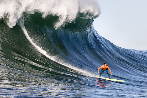Big wave surfing: train and share knowledge | Photo: Tony Canadas/Mavericks Invitational