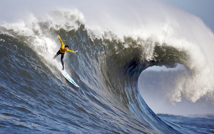 Big wave surfing: extreme is a soft word for that