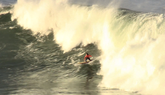 Big wave surfing: a regular day at the office