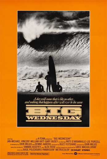 Big Wednesday: the iconic movie poster