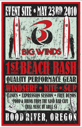 Big Winds Beach Bash: inaugural event is always the hardest one