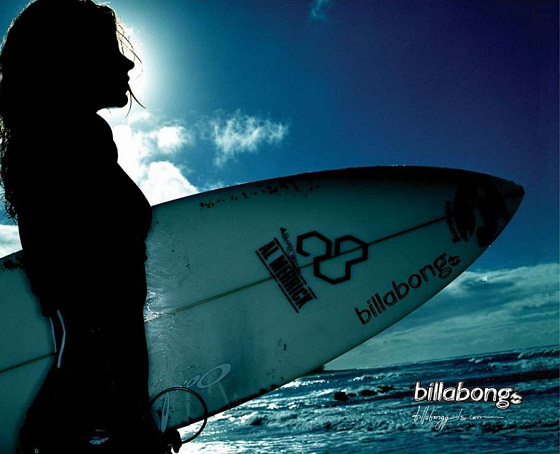 Billabong: the CEO is a surfer girl
