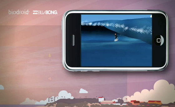 Billabong Surf Trip: first the iPhone, then the PS3, Xbox360 and PC