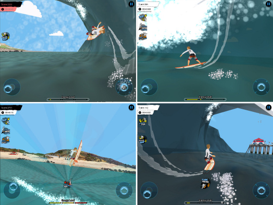 Billabong Surf Trip: crazy aerial game
