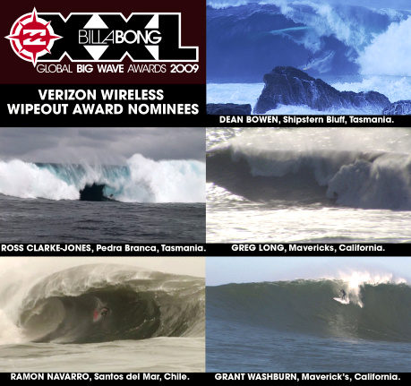 Billabong XXL Wipeout Awards