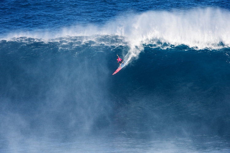 Billy Kemper: he score a Perfect 10 at Jaws | Photo: Heff/WSL