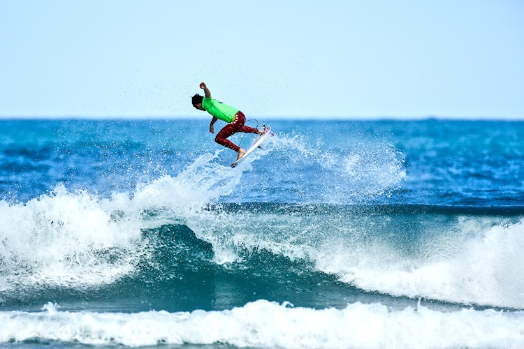 Billy Stairmand: air glory | Photo: Surfing NZ