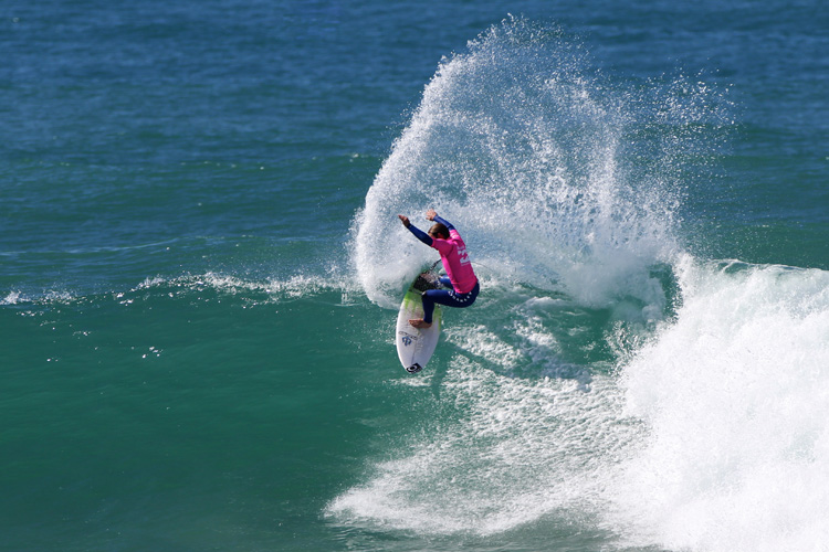Billy Stairmand: the New Zealand record of five titles that is held by Auckland surfers Wayne Parkes and Iain Buchanan | Photo: Mark Stevenson