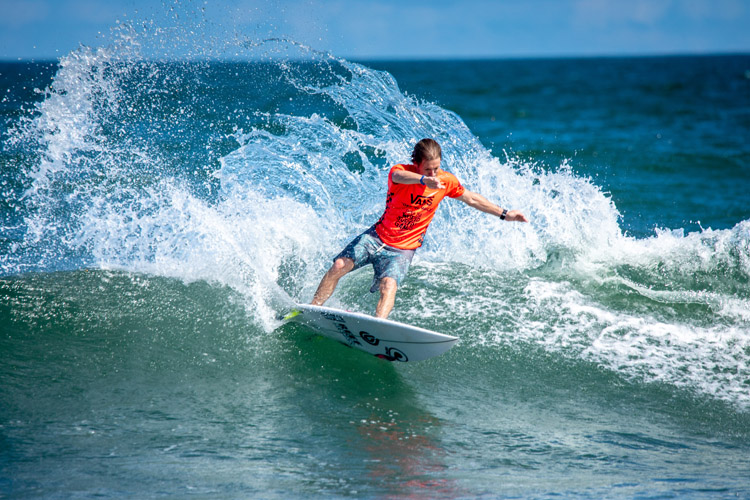 Surfing: the sport will make its Olympic debut at Tsurigasaki Beach, in Chiba, Japan | Photo: ISA