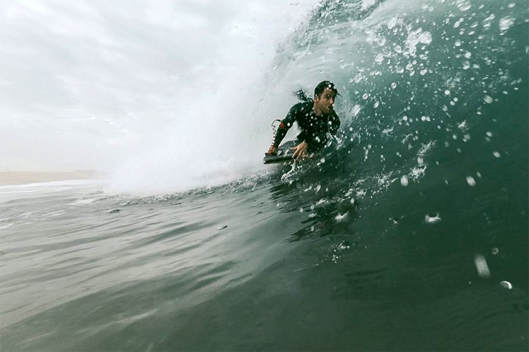 Black Rock: a bodyboarding spot located somewhere near Povoa de Varzim | Photo: Wow Filmes