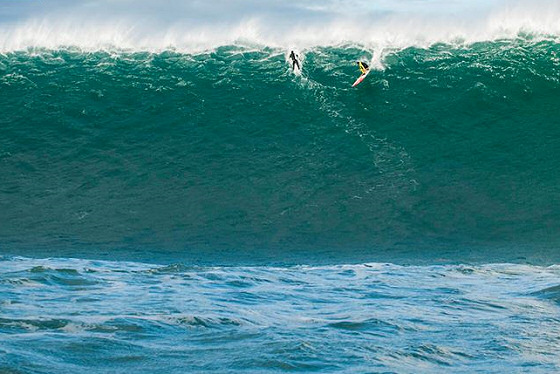 Belharra: Jamie Mitchell tastes the power of the Black Swell