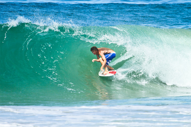 Blair Conklin: aiming at the world skimboarding title | Photo: Exile Skimboards