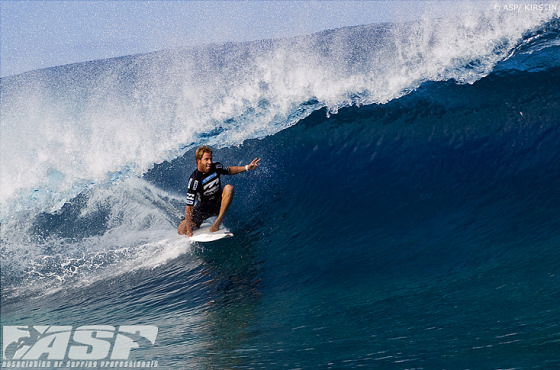 Blake Thornton: barrel relaxing mode