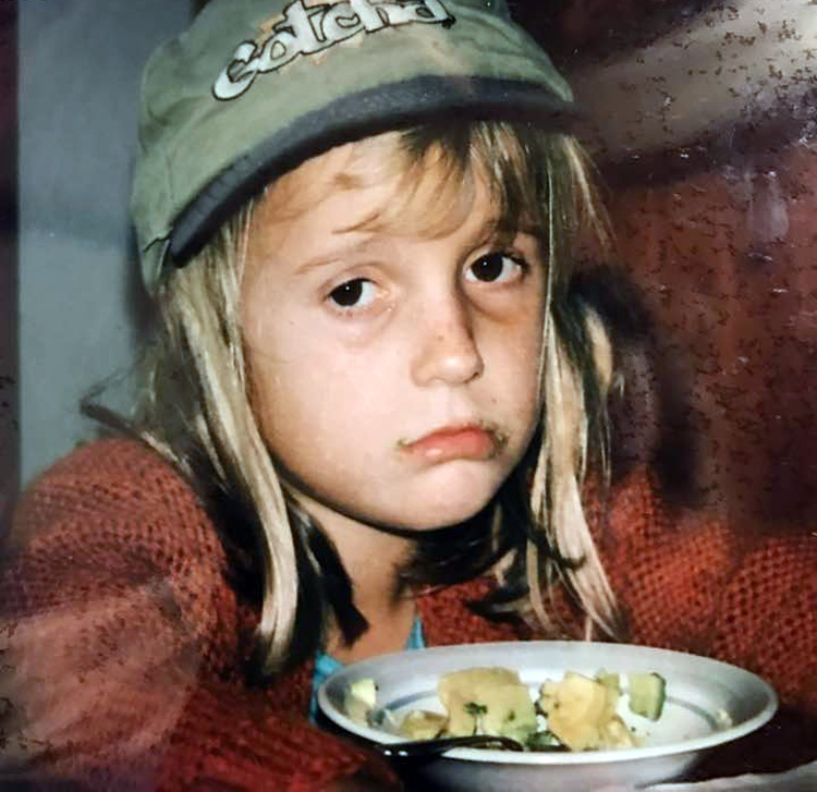 Alana Blanchard: she didn't like veggies when she was a kid | Photo: Holt Blanchard