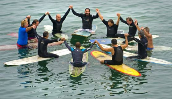 Blessing of the Waves: 3000 surfers ask God for the best waves | Photo: OC Register