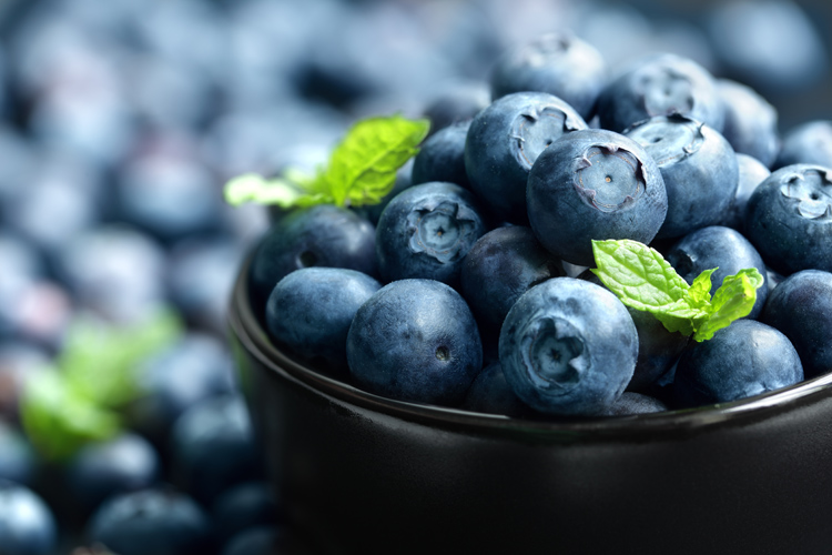 Blueberries: they fight wrinkles | Photo: Shutterstock