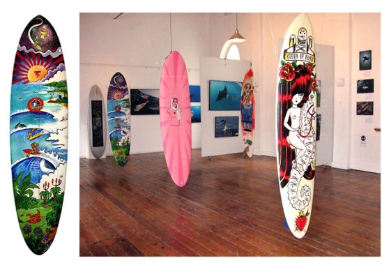 Surfboard sold for a record R17,000 in South Africa