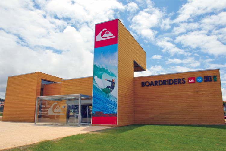 Boardriders: Quiksilver's store in Ericeira, Portugal | Photo: Boardriders