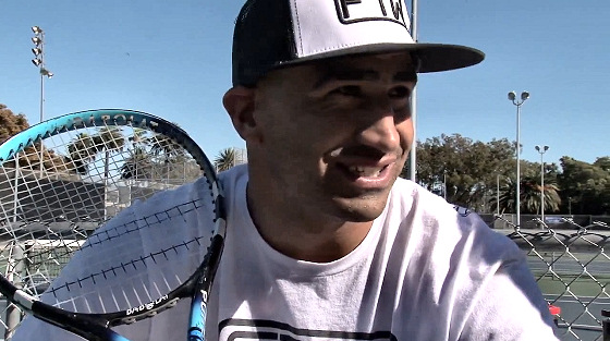 Bobby Martinez: preparing for the ATP World Tour