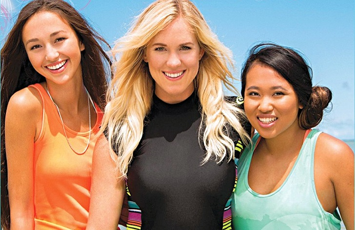 "Bethany Hamilton in ""Body & Soul"""