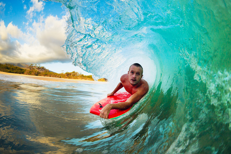 Bodyboard: learn what does what on a boogie board | Photo: Shutterstock