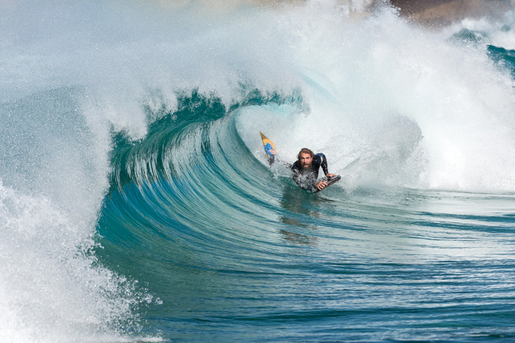 Bodyboarding: a water sport with a cumulative learning process | Photo: Shutterstock