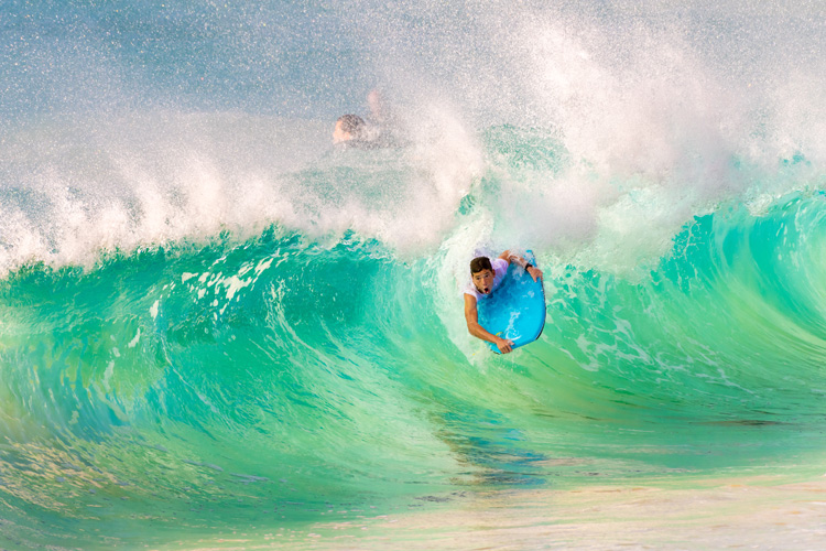 Bodyboarding: it's all about finding the perfect balance between vertical and horizontal variables | Photo: Shutterstock