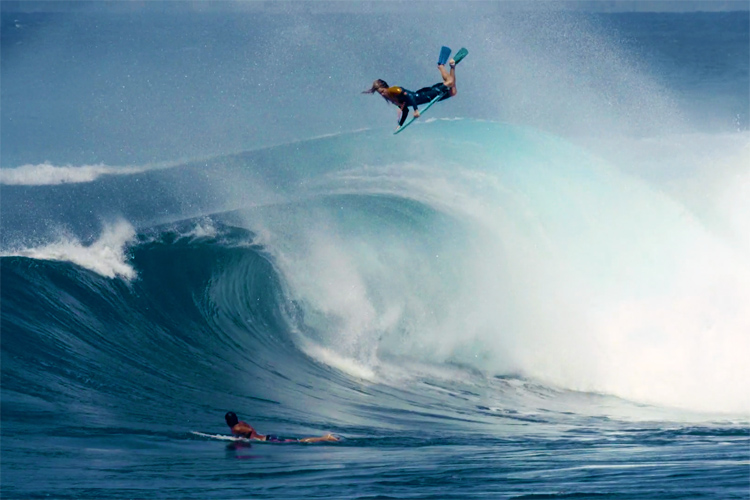 Dave Hubbard: going big at Honolua Bay