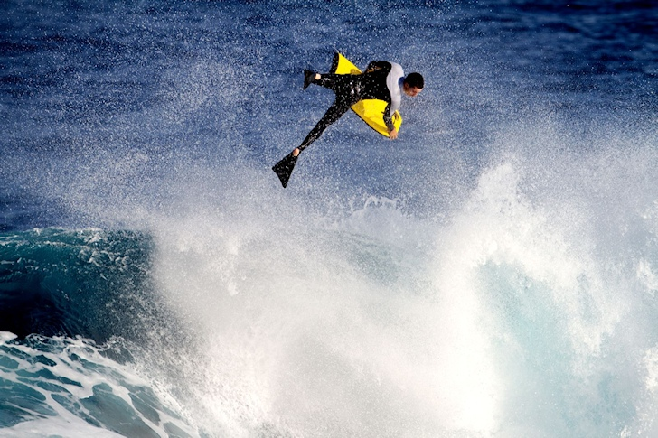 Bodyboarding: the FSWT puts fans in the judging tower | Photo: Fronton King