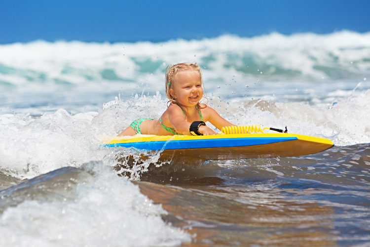 Bodyboarding: an exciting and healthy water sport for youngsters | Photo: Shutterstock