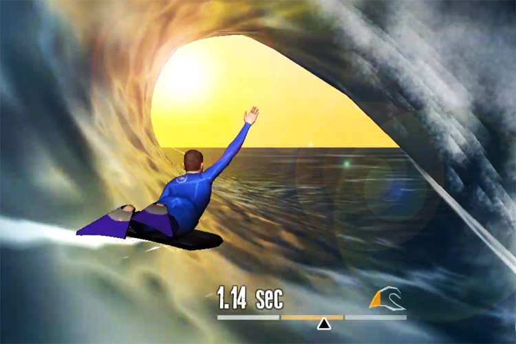 Bodyboarding games: getting pitted in virtual waves