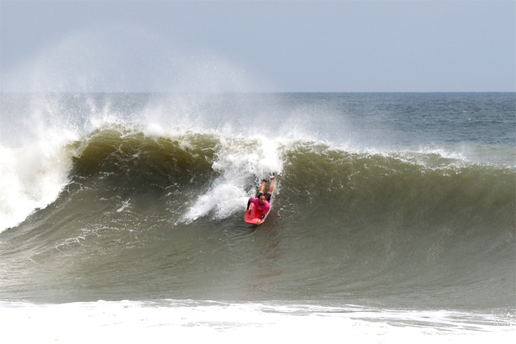 Jenks Pro: one of the most important bodyboarding competitions in the USA | Photo: USBA