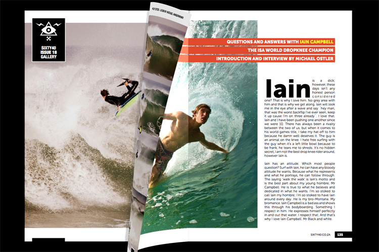 Bodyboard magazines: the majority of the publications are now available exclusively online