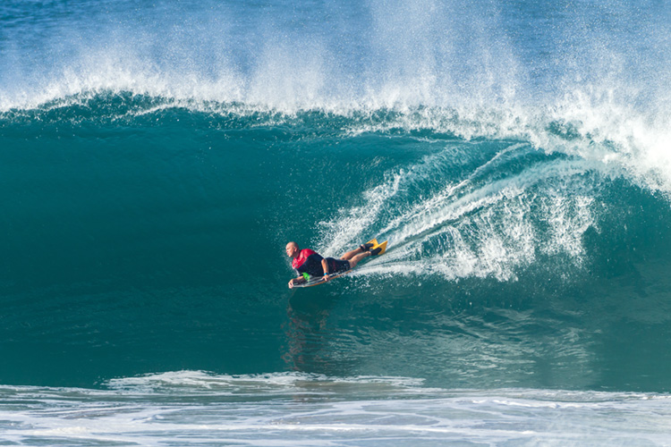 Bodyboarding: optimal weight distribution improves the wave riding experience | Photo: Shutterstock