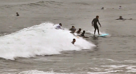 Bodyboarding: a sport that chases surfers
