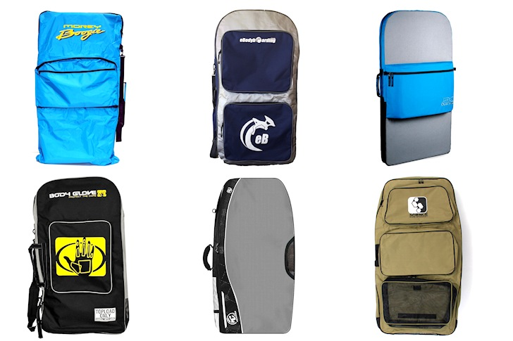 Bodyboard travel bags: great for carrying fins, wax, wetsuit and boards